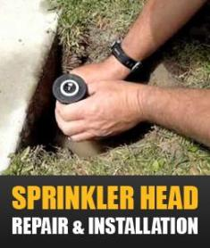 our professional contractors are able to fix even the most stubborn sprinkler heads